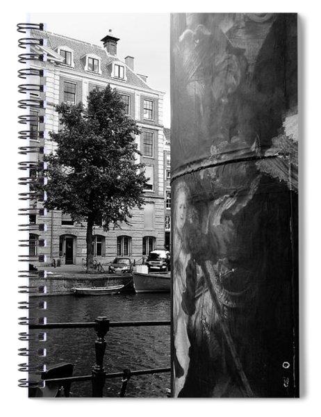 Rembrandt In Amsterdam Spiral Notebook