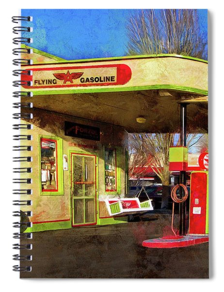 Remember When There Was Service Spiral Notebook