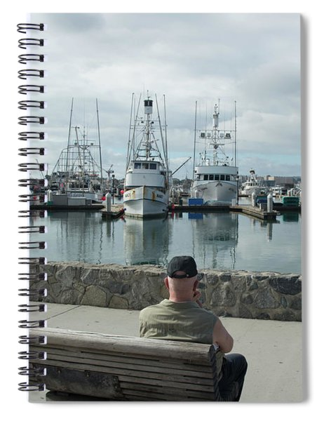 Remembering The Past Spiral Notebook