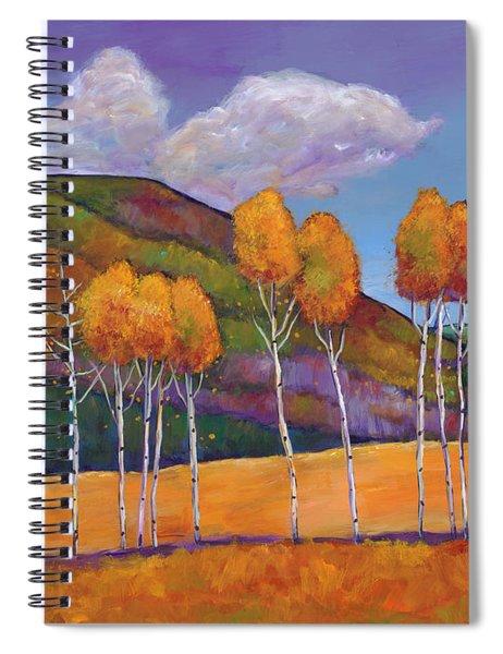 Reminiscing Spiral Notebook