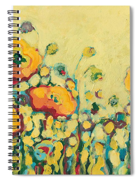 Reminiscing On A Summer Day Spiral Notebook by Jennifer Lommers