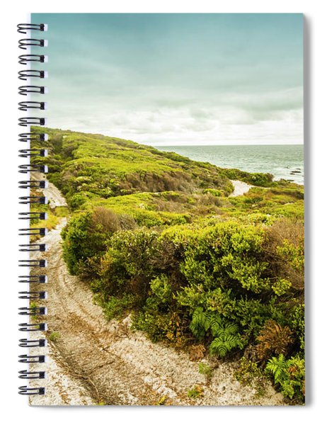 Remote Australia Beach Trail Spiral Notebook