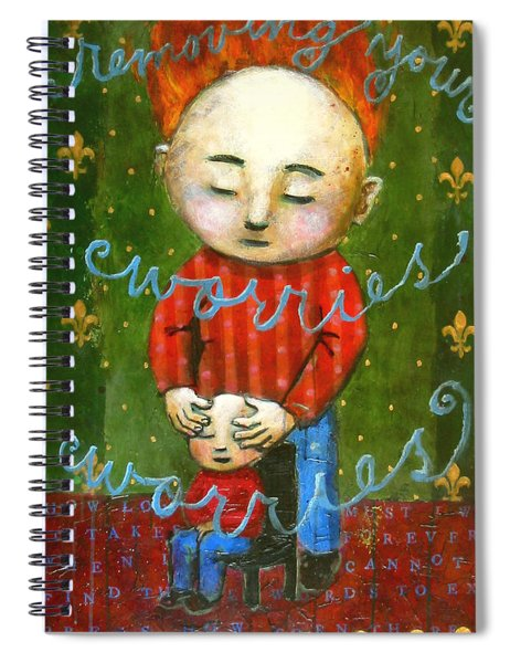 Removing Your Worries Spiral Notebook