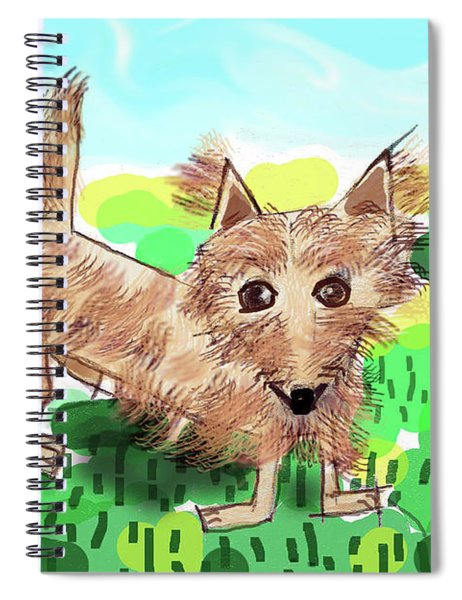 Remy, Laird Of The Cairn Spiral Notebook