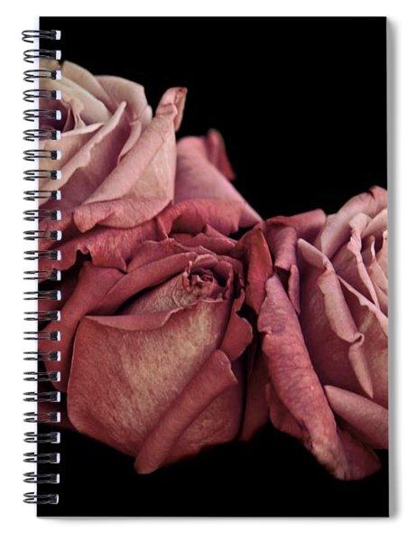Renaissance Roses Spiral Notebook