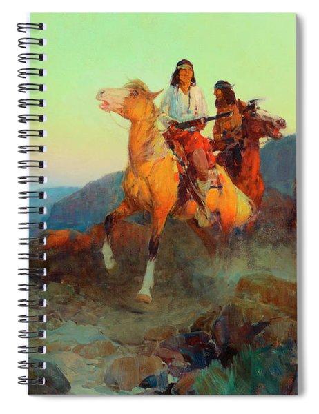 Renegade Apaches Spiral Notebook