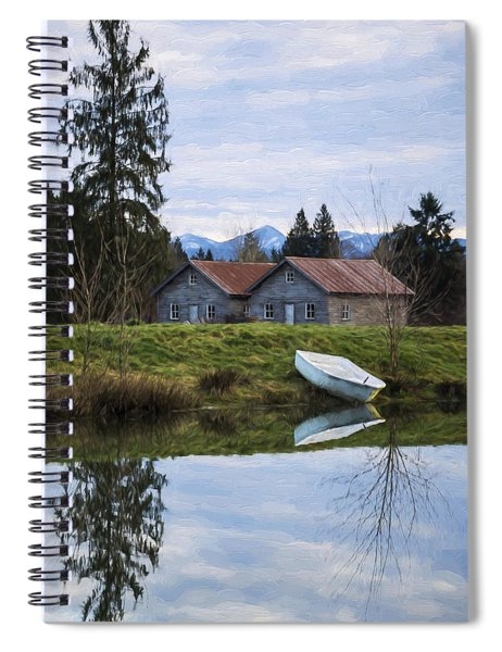Renewed Hope - Hope Valley Art Spiral Notebook