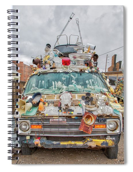 Reno Cacophony Double Decker Spiral Notebook