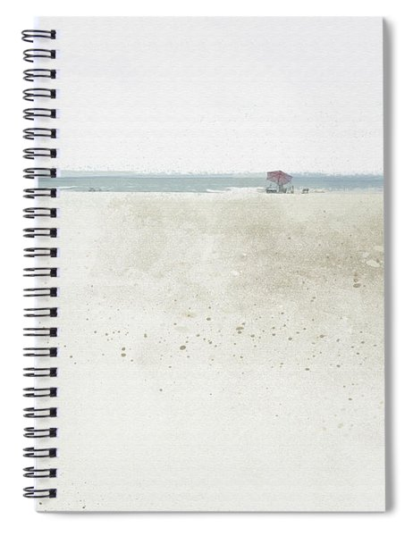 Spiral Notebook featuring the digital art Renourishment by Gina Harrison