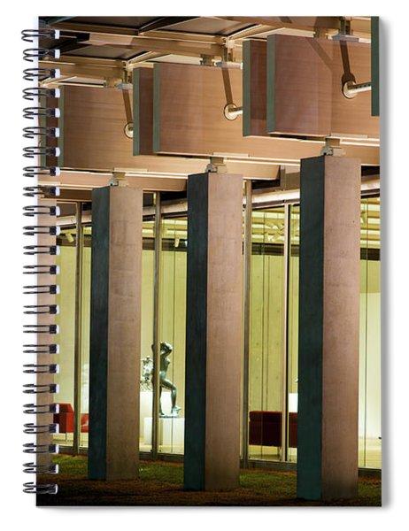 Renzo Piano Building Kimball Museum Spiral Notebook