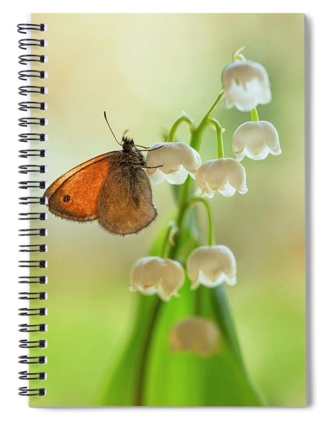 Rest In The Morning Sun Spiral Notebook