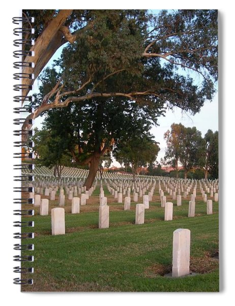 Resting In Peace Spiral Notebook