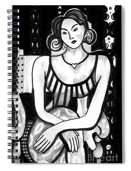 Rethinking Matisse Spiral Notebook