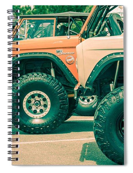Retro Bronco Heaven Spiral Notebook