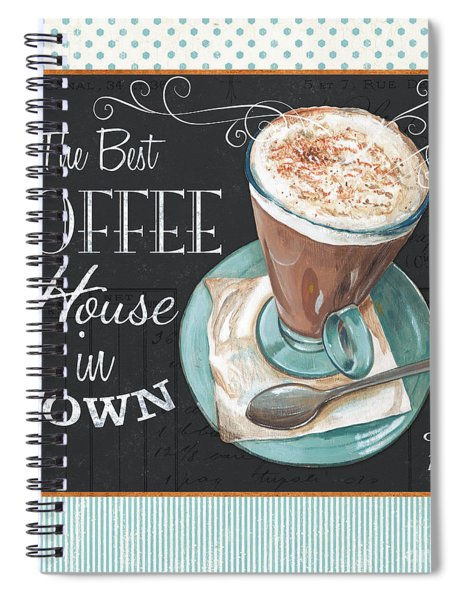Retro Coffee 2 Spiral Notebook