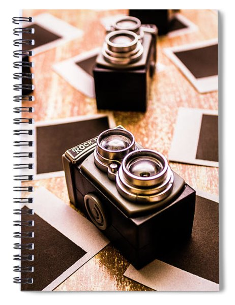 Retro Photographic Scene Spiral Notebook