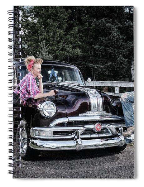Retro Tunes Spiral Notebook