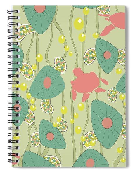 Retro Turtles Spiral Notebook