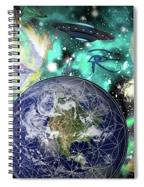 Return Of The Elders 3 Spiral Notebook