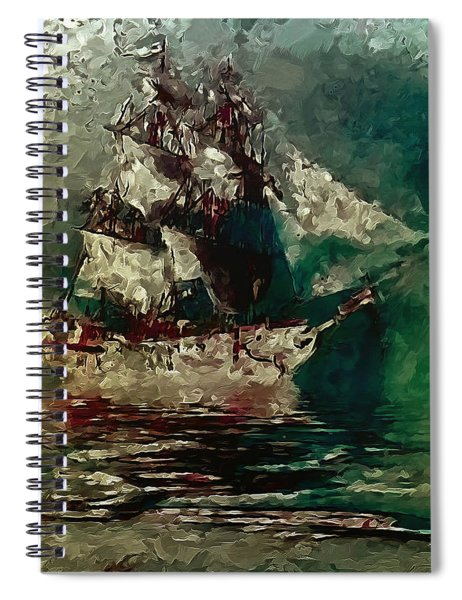 Return Of The Flying Dutchman Spiral Notebook