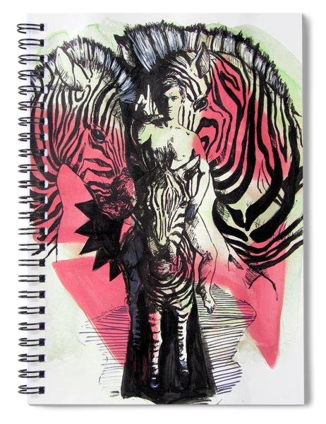 Return Of Zebra Boy Spiral Notebook