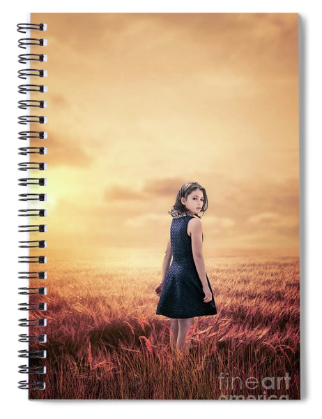 Return To Tomorrow Spiral Notebook