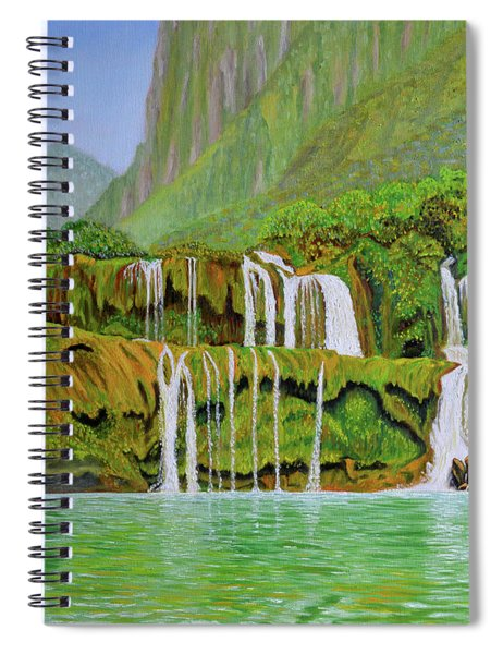 Returned To Paradise Spiral Notebook