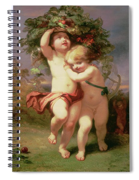 Returning Before The Storm, 1850 Spiral Notebook