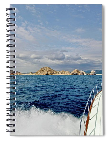Returning To Port Spiral Notebook