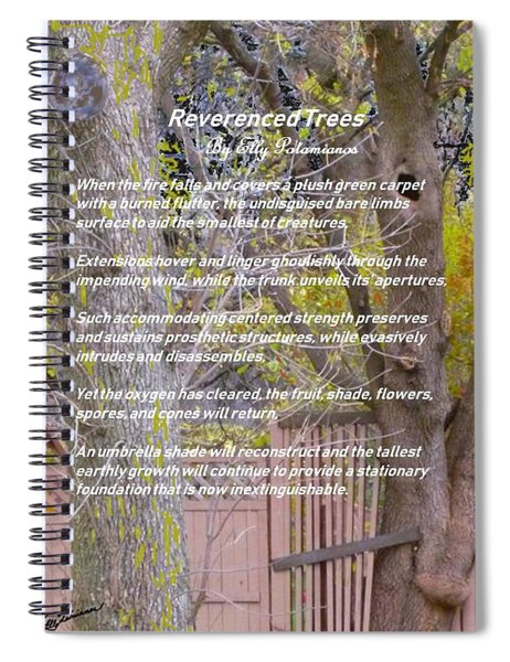 Reverence Of Trees Spiral Notebook