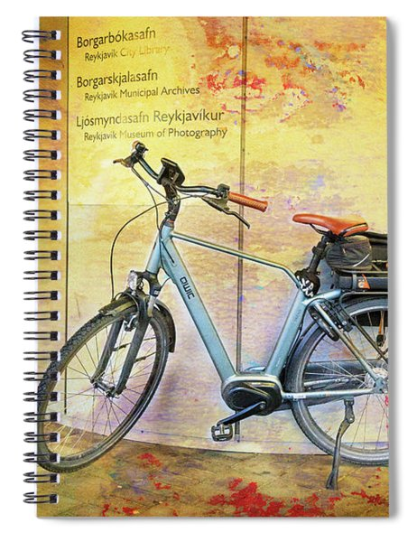 Reykjavik Museum Of Photography Bicycle Spiral Notebook