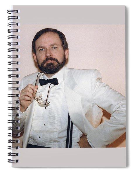 Reynold Jay Portrait Spiral Notebook