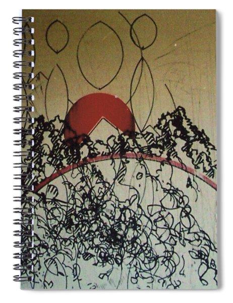 Rfb0208-2 Spiral Notebook