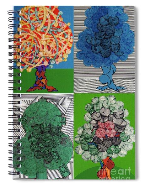 Rfb0502-0505 Spiral Notebook
