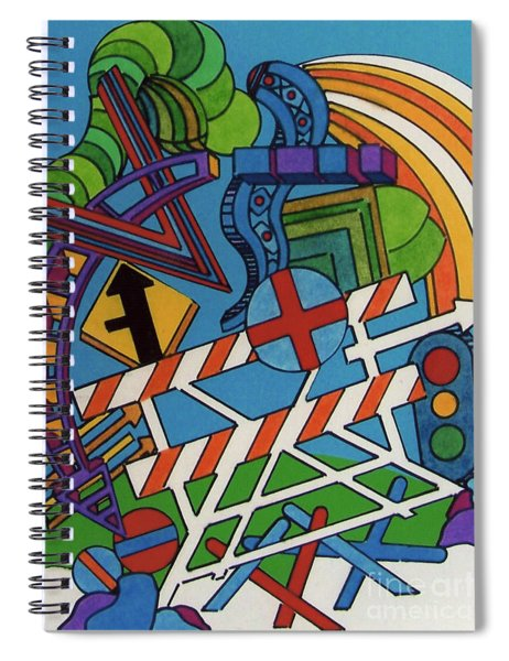 Rfb0519 Spiral Notebook