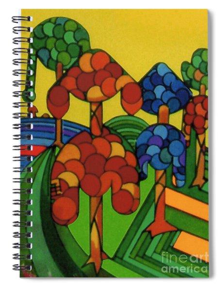 Rfb0544 Spiral Notebook