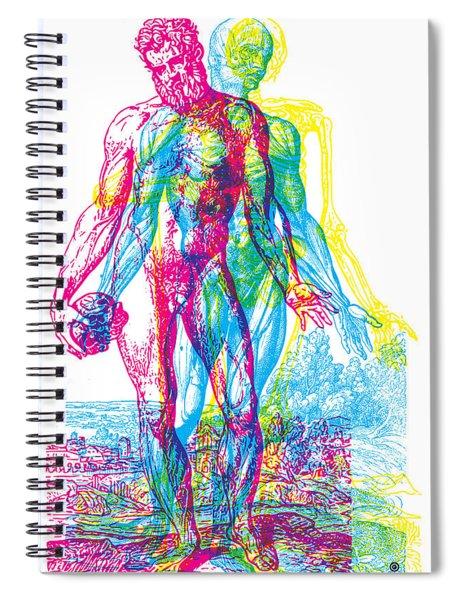 Rgb Anatomy Spiral Notebook