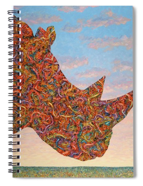 Rhino-shape Spiral Notebook
