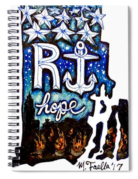 Rhode Island, Hope Spiral Notebook