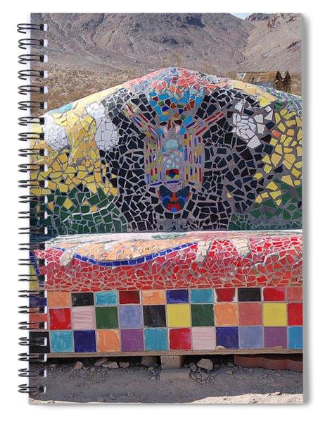 Rhyolite Sofa Spiral Notebook