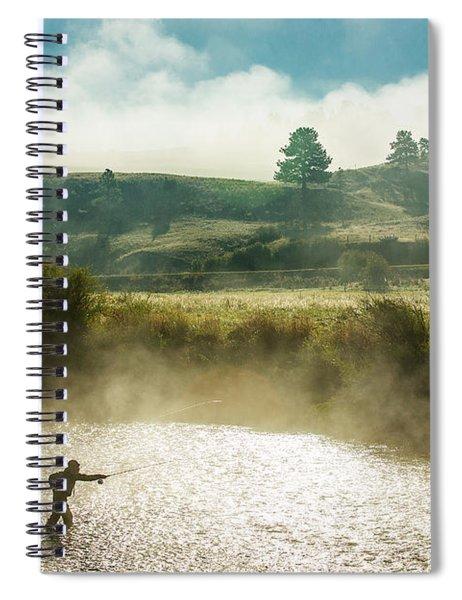 Rhythm And Grace Spiral Notebook