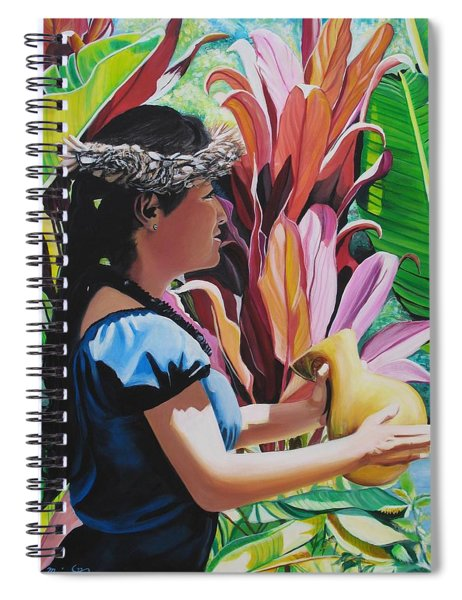 Rhythm Of The Hula Spiral Notebook