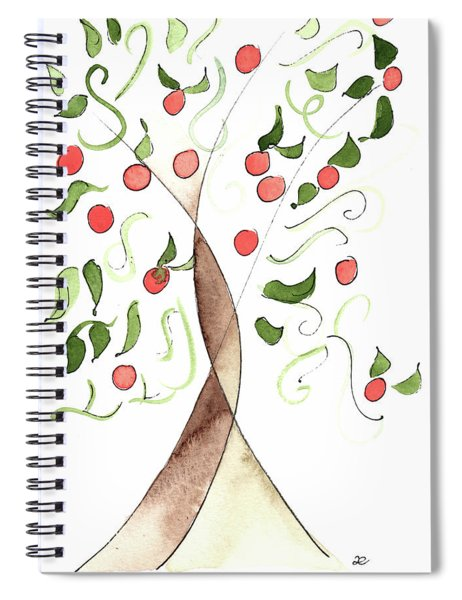 Riad Orange Tree 2017 Spiral Notebook