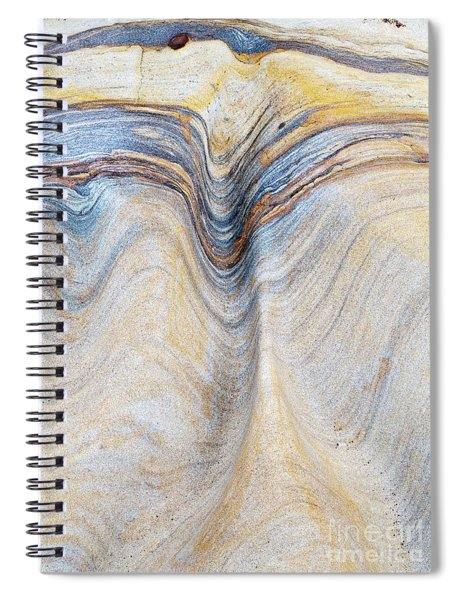 Ribbon Of Rock Spiral Notebook