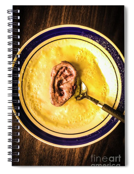 Rich And Creamy, Just The Way I Like It Spiral Notebook
