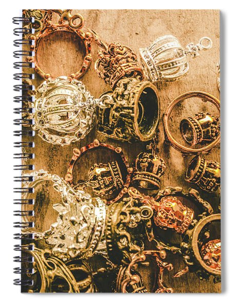 Riches To The Throne Spiral Notebook