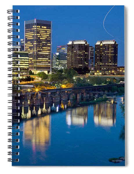 Richmond Skyline Helo Trail Spiral Notebook