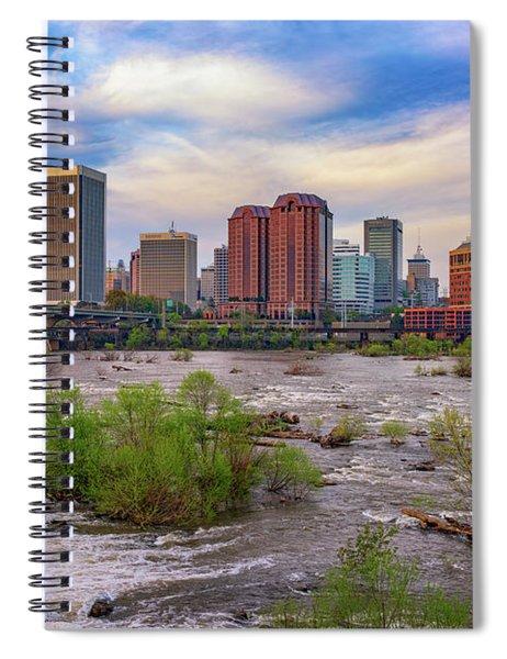 Richmond Skyline Spiral Notebook