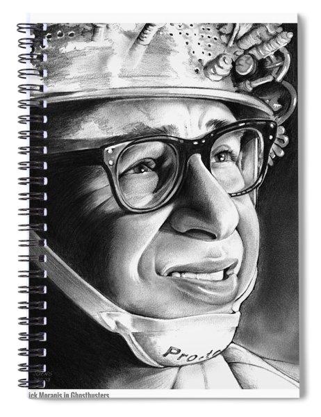 Rick Moranis Spiral Notebook
