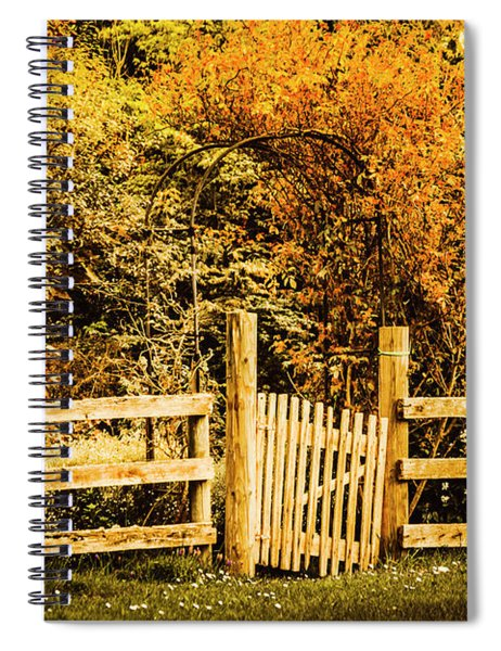 Rickety Countryside Spiral Notebook